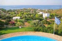 Villa with Pool near the sea Attica , Sounio 9