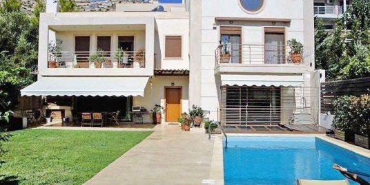 House with Pool for sale Saronida, South Athens