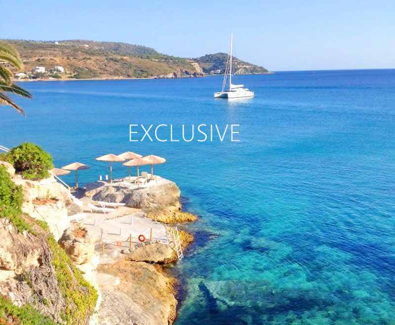 1st class investment waterfront hotel for sale in greece