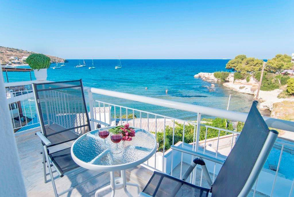 Waterfront Hotel for Sale at Aegina (near Athens), 57 Rooms