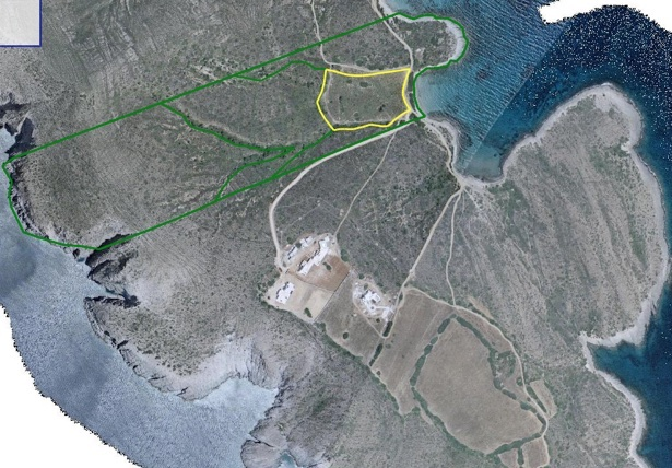 200.000 sq.meters of seafront Land in Antiparos EXCLUSIVE