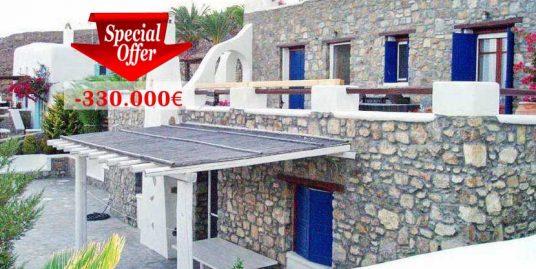 Villa Mykonos Greece Reduced 330.000€ !