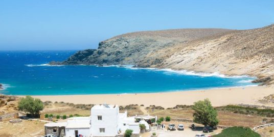Land by the Sea in Mykonos to built Villas