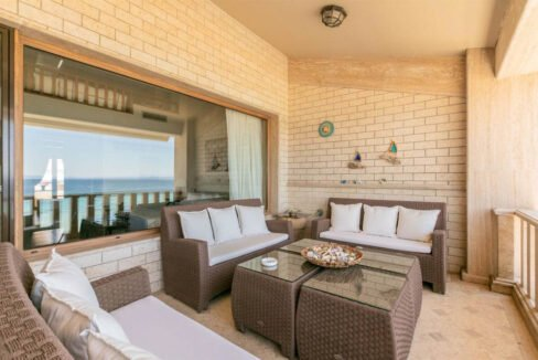 Luxury Maisonette on the Beach in Halkidiki. Halkidiki Seafront Property, Potidea 12