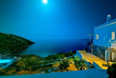 Luxury Seafront Villa , Ios Cyclades. Cyclades Luxury Villas for Sale 1