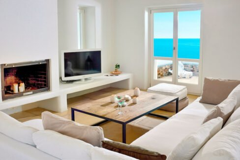 Luxury Seafront Villa , Ios Cyclades. Cyclades Luxury Villas for Sale 16