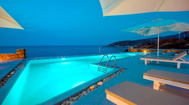 Luxury Seafront Villa , Ios Cyclades. Cyclades Luxury Villas for Sale 2