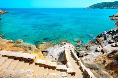 Luxury Seafront Villa , Ios Cyclades. Cyclades Luxury Villas for Sale 21