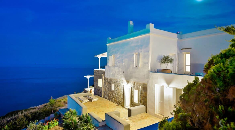 Luxury Seafront Villa , Ios Cyclades. Cyclades Luxury Villas for Sale 22