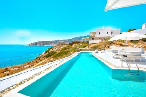 Luxury Seafront Villa , Ios Cyclades. Cyclades Luxury Villas for Sale 26