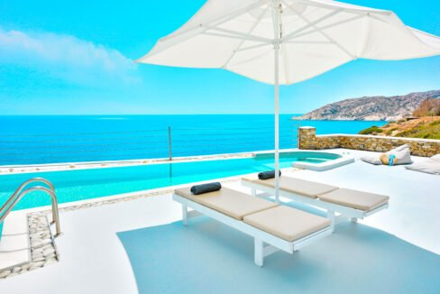 Luxury Seafront Villa , Ios Cyclades. Cyclades Luxury Villas for Sale 28