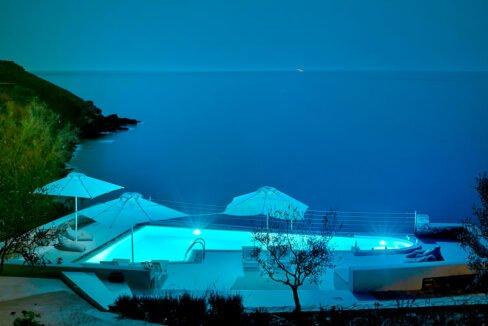 Luxury Seafront Villa , Ios Cyclades. Cyclades Luxury Villas for Sale 3