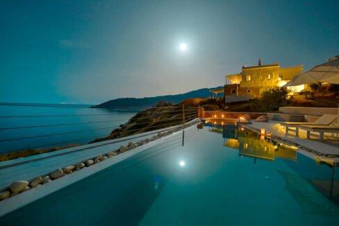 Luxury Seafront Villa , Ios Cyclades. Cyclades Luxury Villas for Sale 9