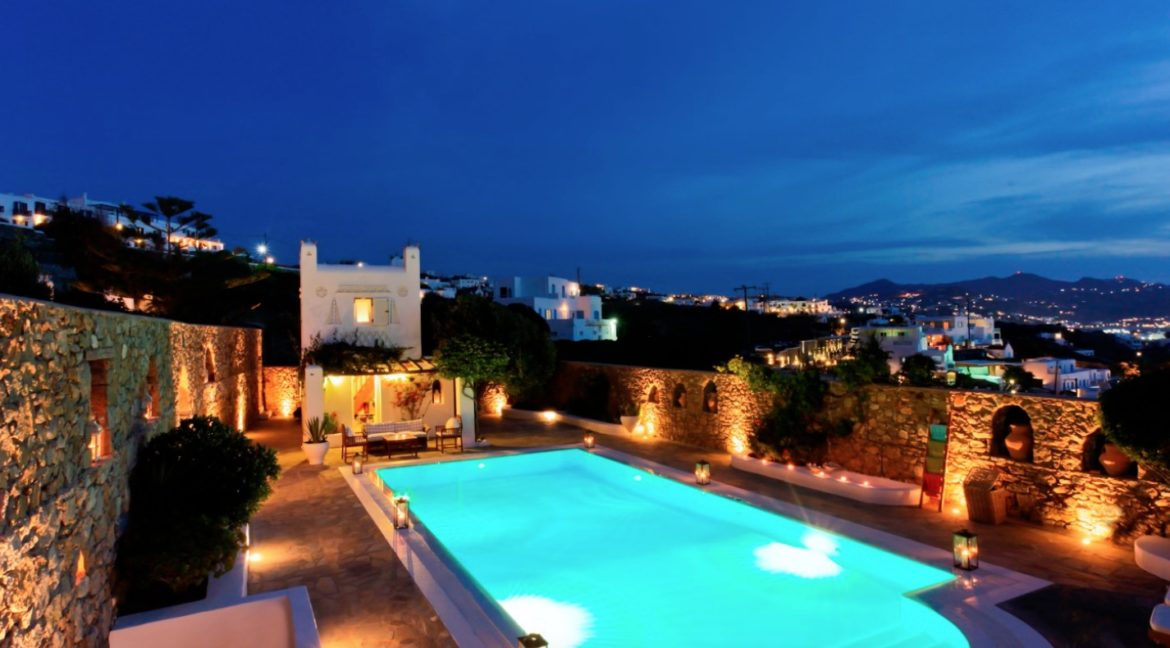 Luxury Villa for Sale Mykonos, Awarded Villa