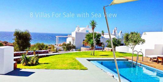 Complex of  8 Luxury Villas in Santorini