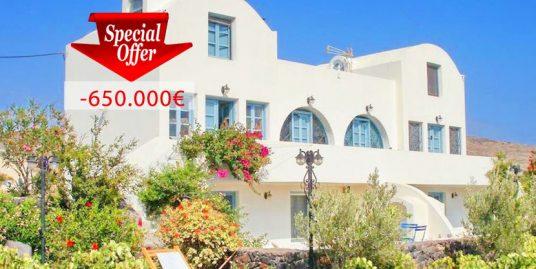 Property for sale near the sea Santorini Perivolos