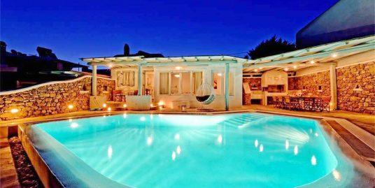 Villa at Kalafatis Mykonos with Pool