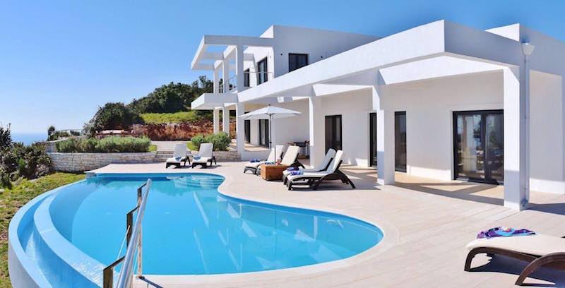 Waterfront villa Corfu 0