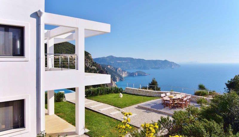 Waterfront villa Corfu 1