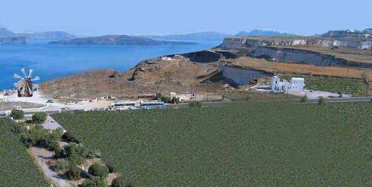 Land of 30.000 sqm with Sea View and Caldera view, Santorini