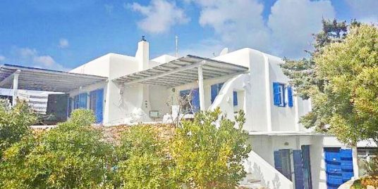 Single House, Villa of 280 square meters Mykonos, with Sea View