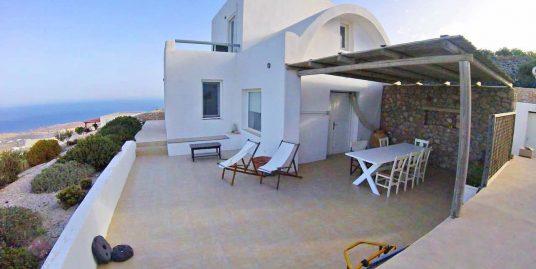 Villa Santorini with Sea View and Big Land Plot