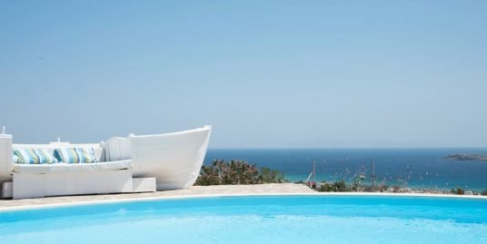Property of 3 Villas with  beautiful sea view in Paros, Golden Beach