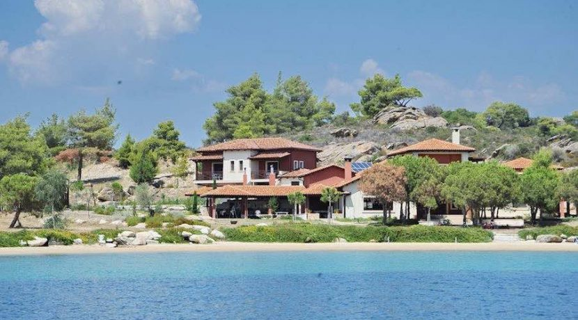 TOP Villa for Sale at Diaporo Vourvourou, Sithonia Halkidiki, Top Villas, Real Estate Greece