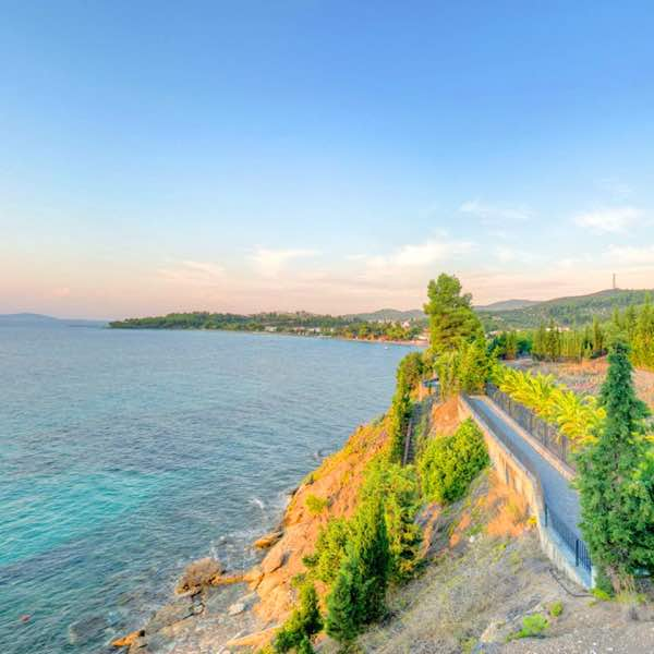 Big Seafront Villa Direct at The Sea, Sithonia Halkidiki