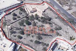 Land to Built at Caldera Santorini 3