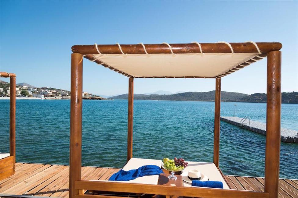 Big Villa with Direct Sea Access at Elounda Crete