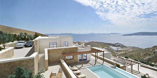 New Villa in Mykonos of 500 sq.m with amazing sea views, New Construction