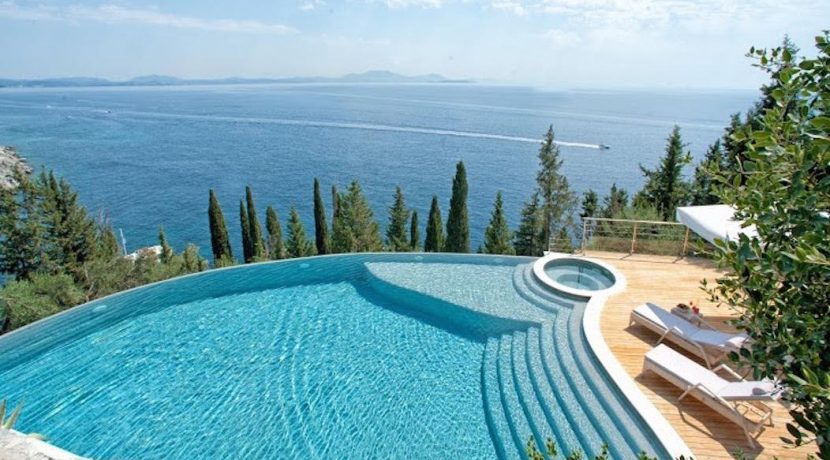 Seafront Luxury Villa Corfu Greece 15