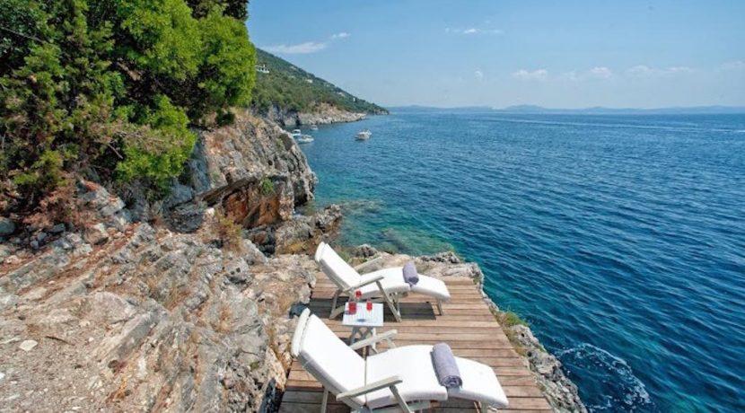 Seafront Luxury Villa Corfu Greece 19