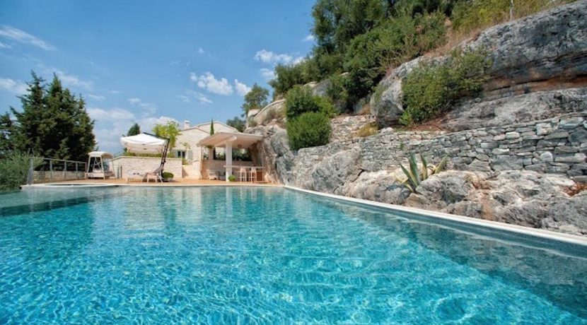 Seafront Luxury Villa Corfu Greece 27