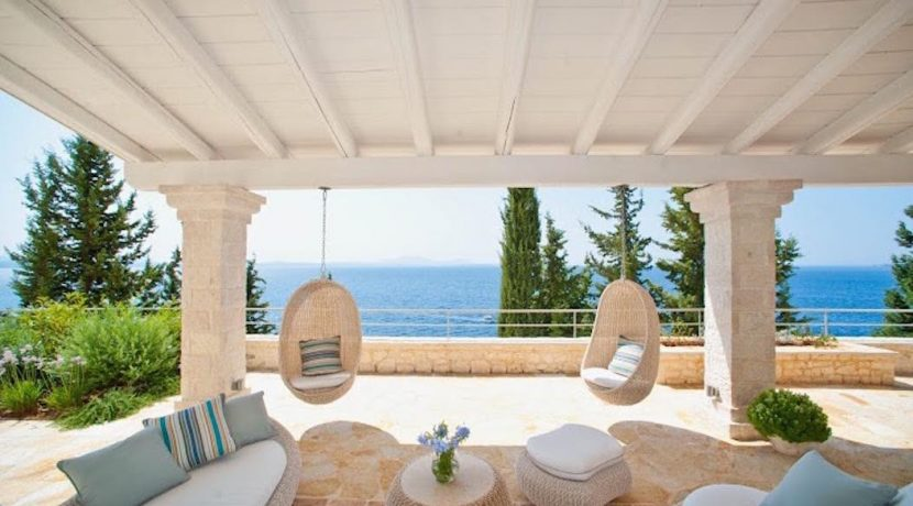 Seafront Luxury Villa Corfu Greece 6
