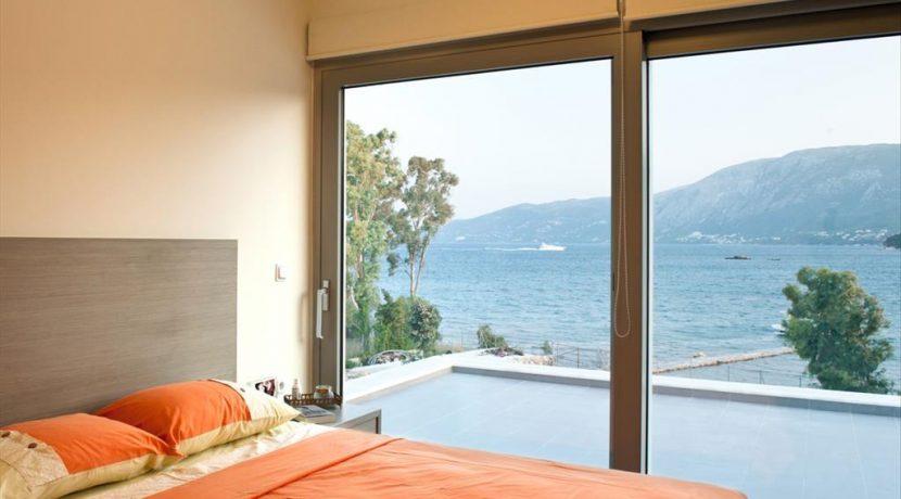 Seafront Minimal Villa at Corfu Greece for sale 0