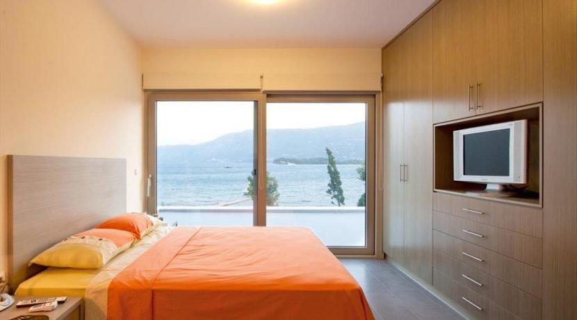 Seafront Minimal Villa at Corfu Greece for sale 1