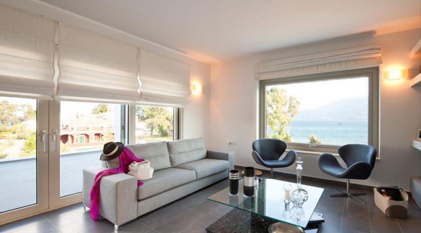 Seafront Minimal Villa at Corfu Greece for sale 10