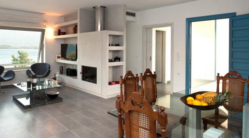 Seafront Minimal Villa at Corfu Greece for sale 11