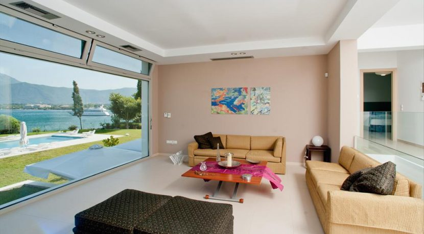 Seafront Minimal Villa at Corfu Greece for sale 16