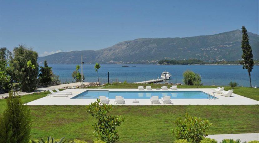 Seafront Minimal Villa at Corfu Greece for sale 3