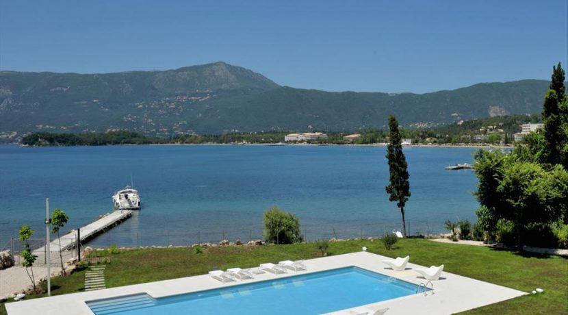 Seafront Minimal Villa at Corfu Greece for sale 4