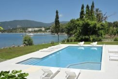 Seafront Minimal Villa at Corfu Greece for sale 5