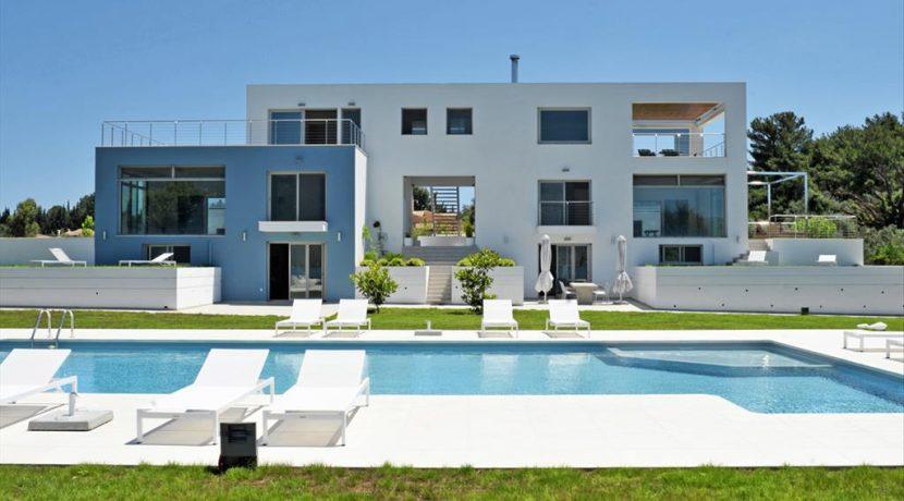 Seafront Minimal Villa at Corfu Greece for sale 6