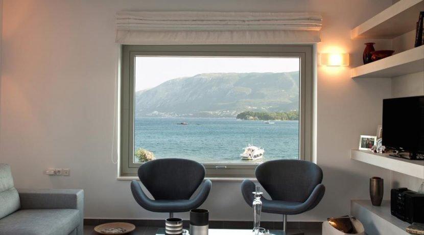 Seafront Minimal Villa at Corfu Greece for sale 9