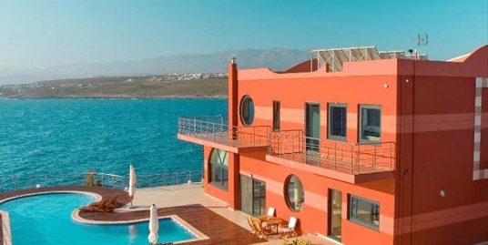 Seafront Villa at Tersanas Chania Crete