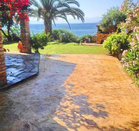 Villa 1st at the sea Corfu Greece 17