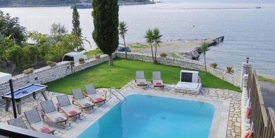 1st at the sea Villa at Corfu, Direct Sea Access