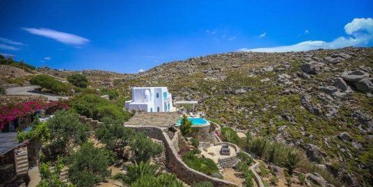 Villa in Mykonos with Amazing Sea views, Agrari Beach